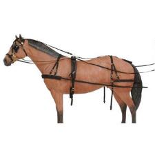 Tough 1 Deluxe Nylon Pony Driving Harness - TB