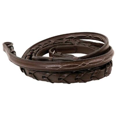 M Toulouse Fancy Stitched Laced Reins