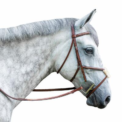 M Toulouse Classic Figure 8 Fancy Stitched English Bridle