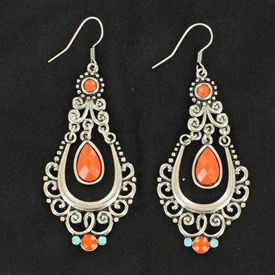 Blazin Roxx Chandelier Drop Earrings