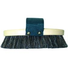 Decker Natural Horse Hair Grip Fit Brush with Handle - TB
