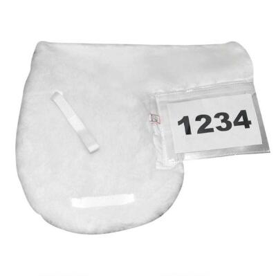 English Saddle Pad with Number Pocket