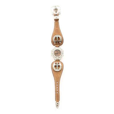 Blazin Roxx Horseshoe Cross Ladies Watch