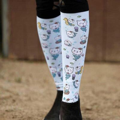 Dreamers and Schemers Purr Maids Boot Socks