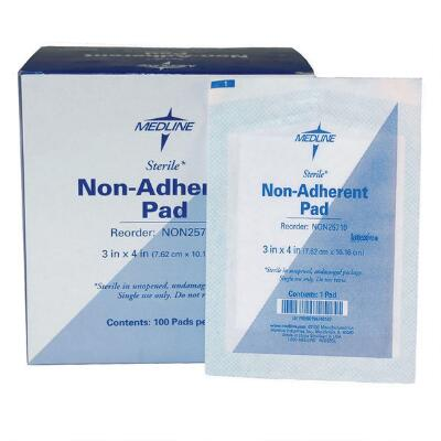 Non Adherent Pads 3 In X 4 In 100 Per Box