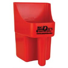 Feed Scoop Plastic with Big Dee's Logo - TB