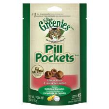 Feline Greenies Pill Pockets Salmon 1.6 oz