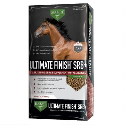 Buckeye Nutrition Ultimate Finish SRB Stabilized Rice Bran 30 lb