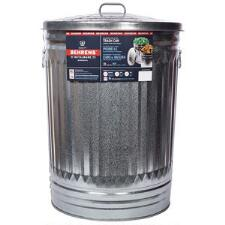Miller Galvanized Steel Trash Can with Lid 31 Gallon - TB