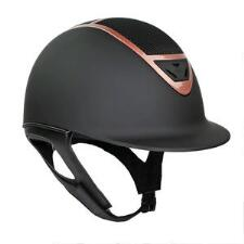 IRH IR4G XLT Matte Black and Rose Gold Riding Helmet - TB