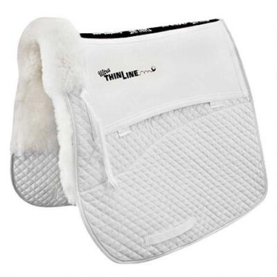 Thinline Sheepskin Shimmable Dressage Pad
