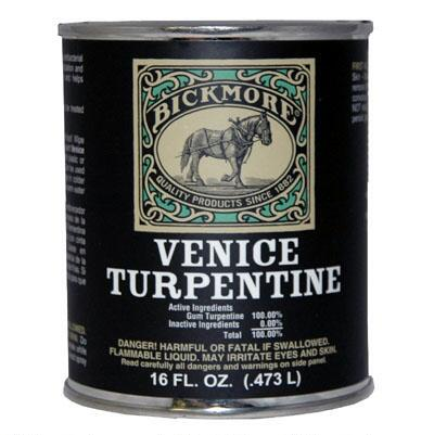 Bickmore Venice of Turpentine 16 oz