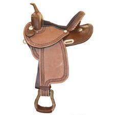 Dakota RO Barrel Saddle 14 Inch Dark Oil - TB
