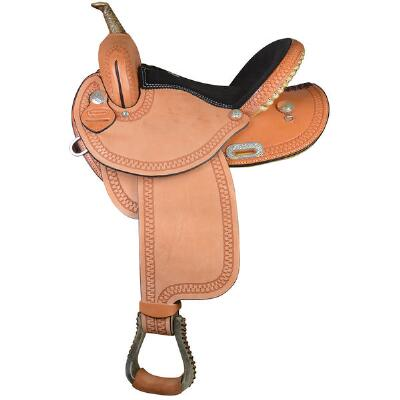 Dakota Saddlery RO Light Oil Barrel Saddle