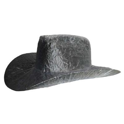 Cowboy Hat Cover Clear