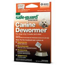 Merck Safe Guard Canine Dewormer 10 lb Dog - TB