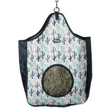 Weaver Pattern Hay Bag with Mesh Sides - TB