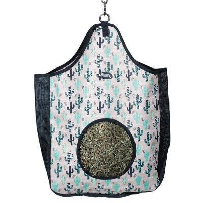 Weaver Pattern Hay Bag with Mesh Sides