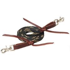Weaver Flat Braided Roper Style Competition Rein - TB