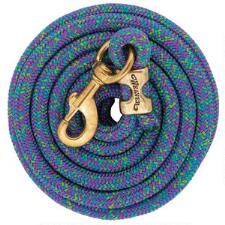Weaver Mosaic Poly Lead Rope with Solid Brass Snap 10ft - TB