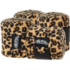 Weaver Pattern Polo Wraps Set of 4 - Sahara Leopard - TB
