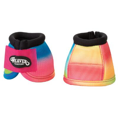 Weaver No Turn Bell Boots - Rainbow