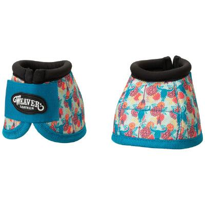 Weaver Prodigy No Turn Bell Boots - Floral Steer