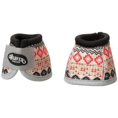 Weaver Prodigy No Turn Bell Boots - Crimson Aztec