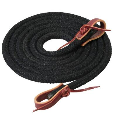 Weaver Silvertip Horsmans Braid Trail Reins