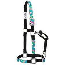 Weaver Adjustable Nylon Halter - Pop Art Pattern - TB
