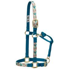 Weaver Adjustable Nylon Halter - Floral Steer - TB