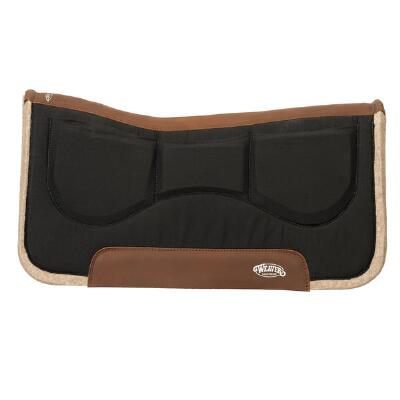 Weaver Contour Wool Blend Shimmable Western Saddle Pad 32x32