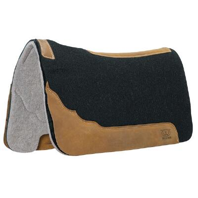 Weaver Contoured Two Tone Felt Western Saddle Pad