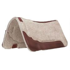Weaver Synergy Contoured  Wool Blend Felt Saddle Pad 31x32 - TB