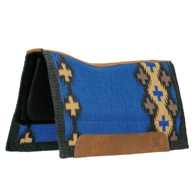 Weaver Contoured Sport Foam Western Saddle Pad Woven Top