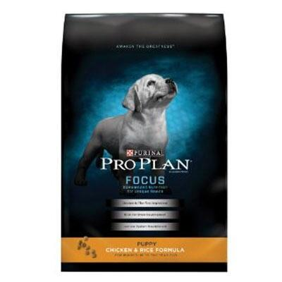 Purina Pro Plan Focus Puppy Chicken and Rice Formula 34 lb
