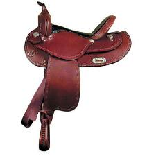 Dakota Saddlery Pleasure Flex Pleasure Trail Saddle 16 Inch - TB