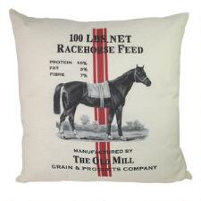 Ox Bow Decor Racehorse Feed 20x20 Decorator Pillow - TB