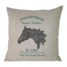 Ox Bow Decor Christmas Horse 20x20 Decorator Pillow - TB