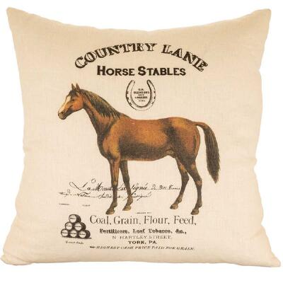 Ox Bow Country Lane 20x20 Decorator Pillow