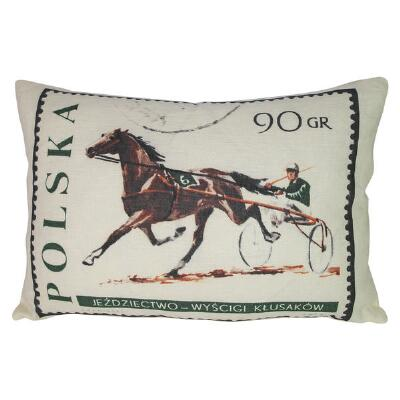 Ox Bow Decor Polska Standardbred 13x19 Decorator Pillow