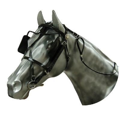 Bridle Blind Biothane Driving Harness