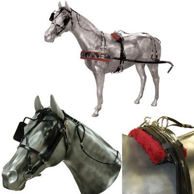 Driving Harness Biothane Horse Size