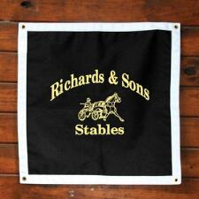 Stall Plaque Custom Deluxe Design - TB