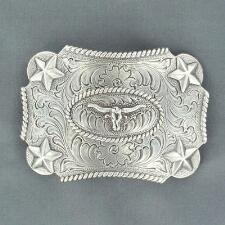 Nocona Longhorn Kids Belt Buckle - TB