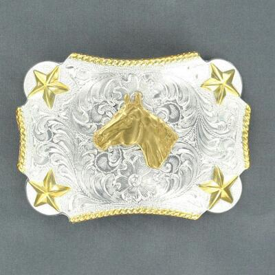 Nocona® Horse Head Youth Belt Buckle