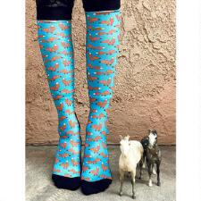 Dreamers and Schemers Foxy for Fall Boot Socks Pair and a Spare - TB