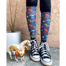 Dreamers and Schemers Mare Goods More Leg Boot Socks Pair and a Spare - TB