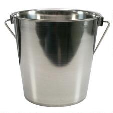 Heavy-Duty Stainless Steel Bucket Pail - 4 Quart - TB