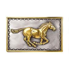 Buckle Running Horse - TB